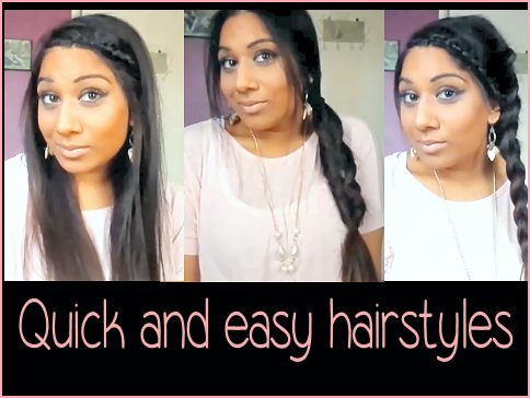 Running Late Quick And Easy Hairstyles